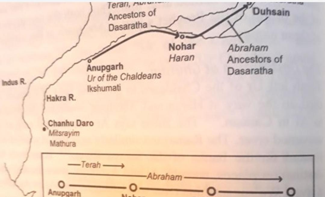 ഇബ്രാഹിം നബിയും രാമനും ഒരാളോ? സമാനതകൾ  ഗവേഷകന്റെ കണ്ടെത്തലുകളിൽ വായിക്കാം