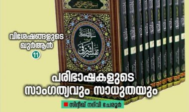 വിശേഷങ്ങളുടെ ഖുർആൻ: (11)  പരിഭാഷകളുടെ സാംഗത്യവും സാധുതയും